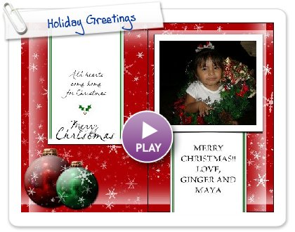 Click to play Holiday Greetings