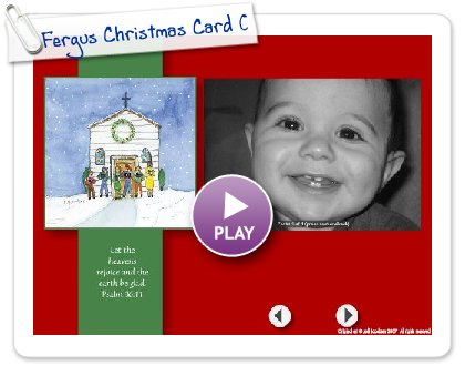 Click to play Fergus Christmas Card 08