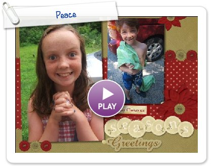 Click to play Merry Christmas from Ella, Declan and Jessica