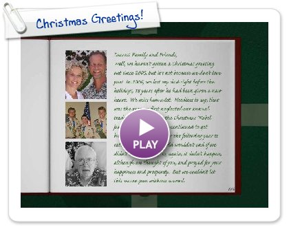 Click to play Christmas Greetings!