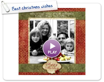 Click to play Best christmas wishes