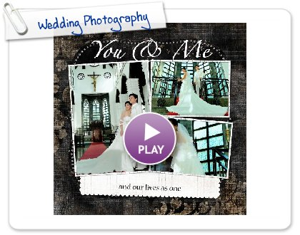 Click to play Wedding Photography
