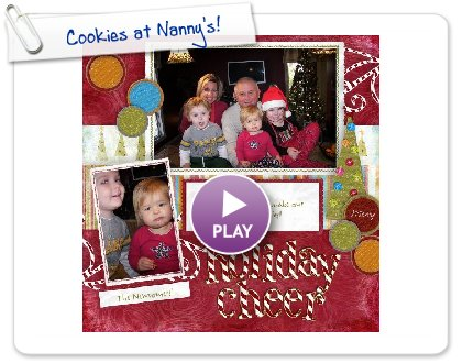 Click to play Cookies at Nanny's!