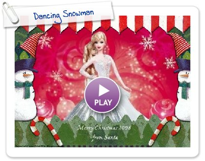 Click to play Dancing Snowman
