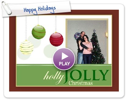 Click to play Happy Holidays