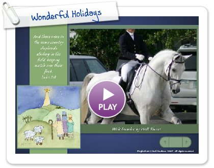 Click to play Wonderful Holidays