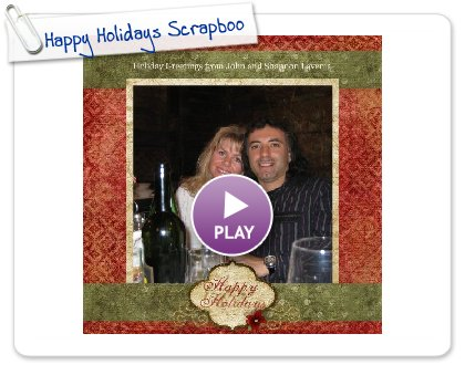 Click to play Happy Holidays Scrapbook