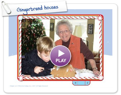 Click to play Gingerbread houses