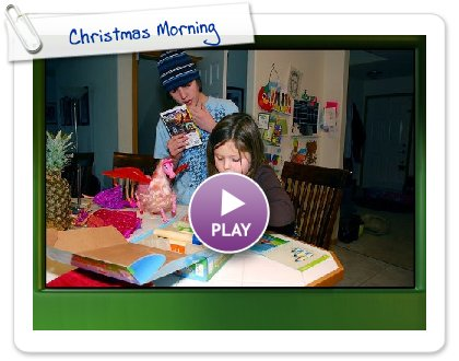 Click to play Christmas Morning