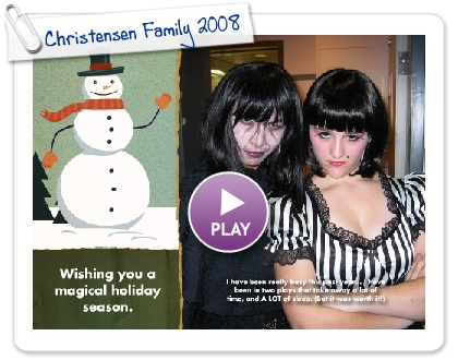 Click to play Christmas message
