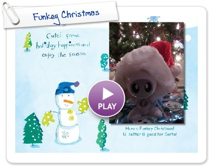 Click to play Funkey Christmas