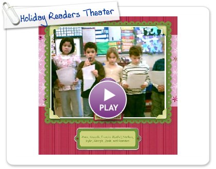 Click to play Holiday Readers Theater