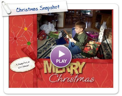 Click to play Christmas Snapshot