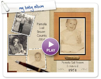 Click to play my baby album