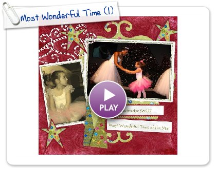Click to play Most Wonderful Time