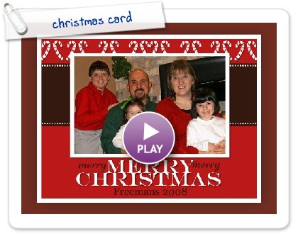 Click to play christmas card