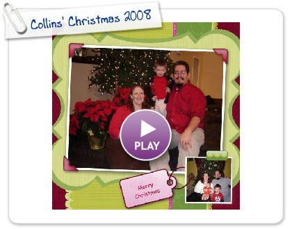 Click to play Collins' Christmas 2008
