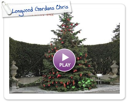 Click to play Longwood Gardens Christmas