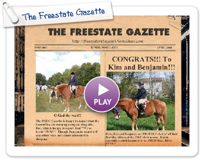 Click to play The Freestate Gazette