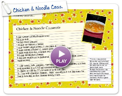 Click to play Chicken & Noodle Cass.