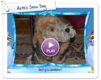 Click to play Asta's Snow Day