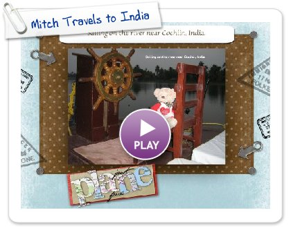 Click to play Mitch Travels to India