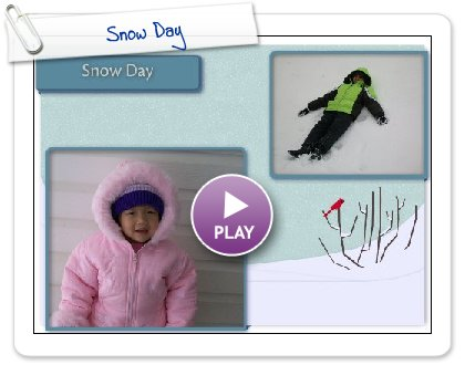 Click to play Snow Day
