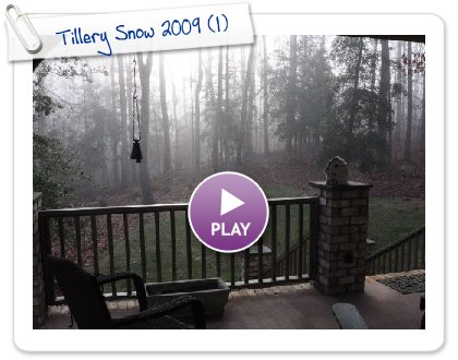 Click to play Tillery Snow 2009