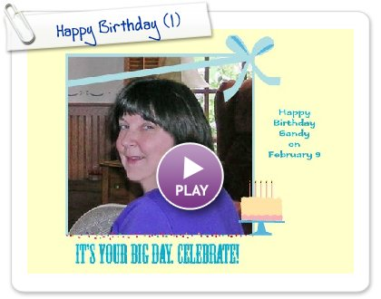 Click to play Happy Birthday