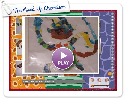 Click to play The Mixed Up Chameleon