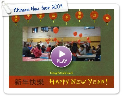 Click to play Chinese New Year 2009