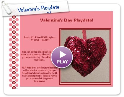 Click to play Valentine's Playdate