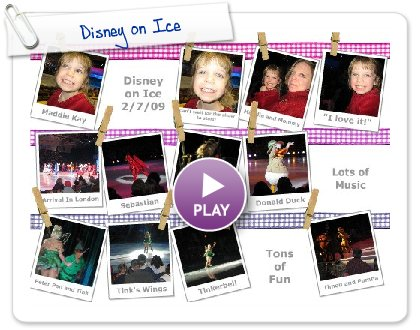 Click to play Disney on Ice