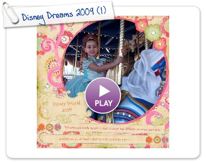 Click to play Disney Dreams 2009