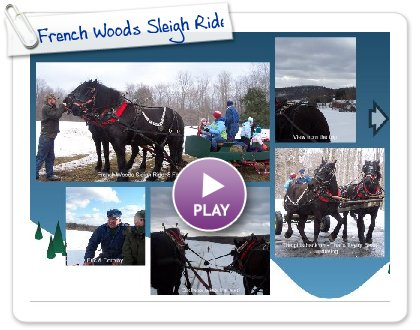 Click to play French Woods Sleigh Ride