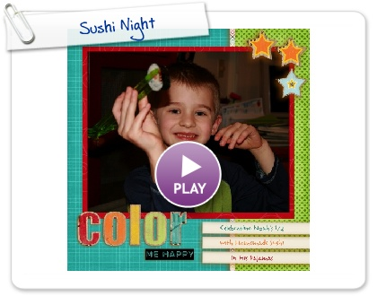 Click to play Sushi Night