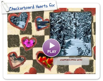 Click to play Checkerboard Hearts from SandwichINK