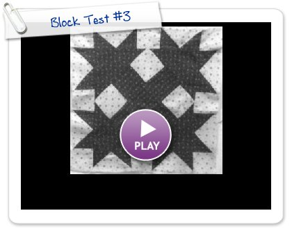 Click to play Block Test #3
