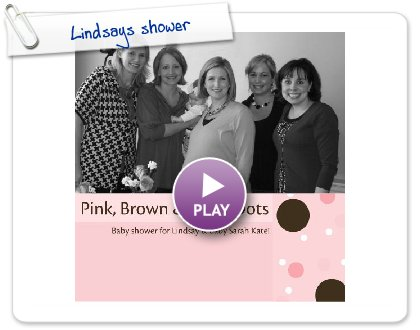 Click to play Lindsays shower