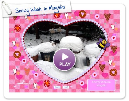 Click to play Snowy Week in Magalia