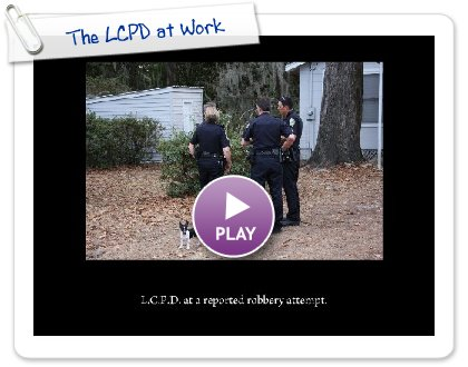 Click to play The LCPD at Work