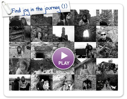 Click to play this Smilebox slideshow: Find joy in the journey