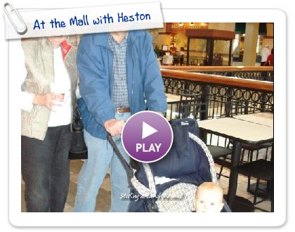 Click to play this Smilebox slideshow: At the Mall with Heston