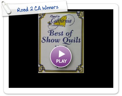 Click to play Road 2 CA Winners