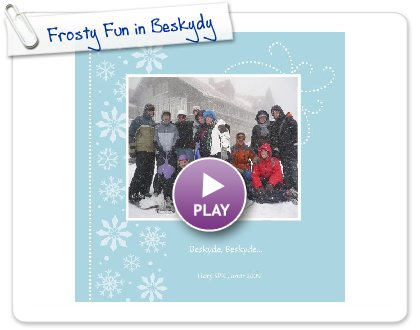 Click to play Frosty Fun in Beskydy