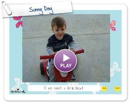 Click to play this Smilebox slideshow: Sunny Day