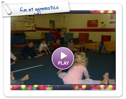 Click to play this Smilebox slideshow: fun at gymnastics