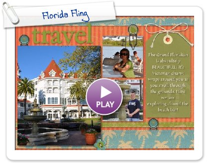 Click to play this Smilebox scrapbook: Florida Fling