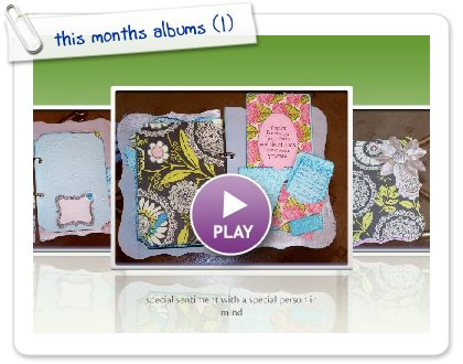 Click to play this Smilebox slideshow: this months albums