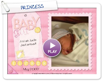 Click to play this Smilebox scrapbook: PRINCESS